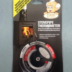 Stove pipe thermometer
